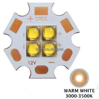 3 V / 6V / 12V Epileds 3535 4Chips 4-18W High Power LED Avotu, nevis MKR XHP50 Vēsi Balta Silti Balta LED par 20mm Vara PCB