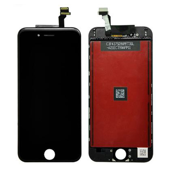 IPhone 6 LCD Plus 6 LCD Displejs Ar Touch Screen Digitizer Montāža Black&White Bezmaksas Piegāde