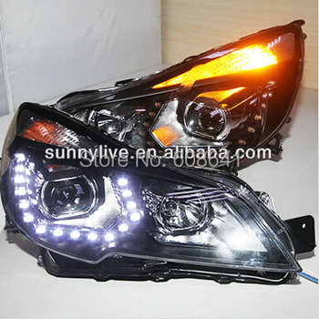 Par Subaru Outback LED Angel Eyes Galvas Gaismas 2010-12 PW