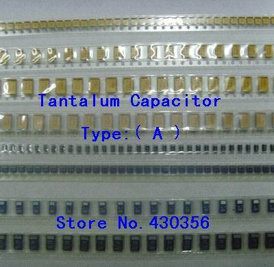 10PCS Tantala Kondensators Tips:105 1UF 25V